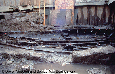 Bronze Age Boat excavation 1992DBL35
