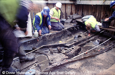 Bronze Age Boat Excavation