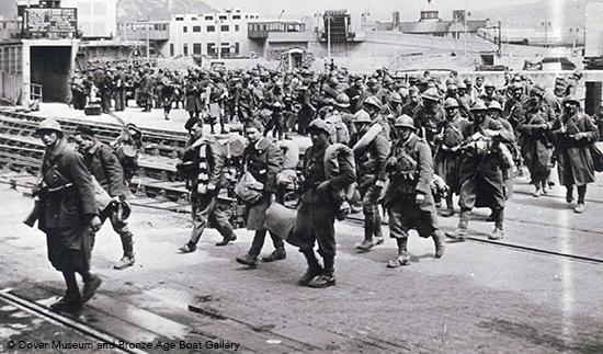 Dunkirk evacuation Dover