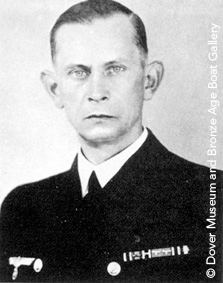 Ernst Lindemann, Captain of the Bismarck