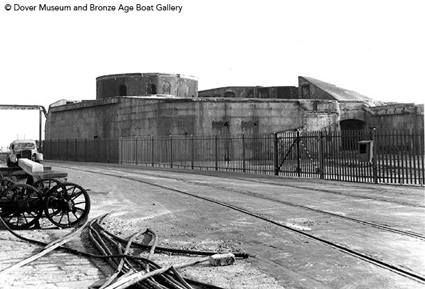 Admiralty Pier Gun Turret Dover