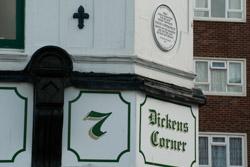 Dickens Plaque Dover